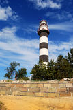 Lighthouse. In bright summer day royalty free stock image