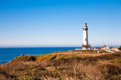 Lighthouse. On pacific ocean coast in Northern California Royalty Free Stock Image