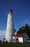 Lighthouse. A Lighthouse against blue sky Stock Photos
