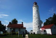 Lighthouse. A Lighthouse against blue sky Stock Photography