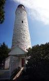 Lighthouse. A Lighthouse against blue sky Royalty Free Stock Photos