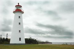 Lighthouse. In prince edward island Royalty Free Stock Images