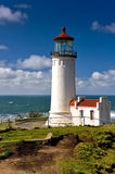 Lighthouse. The lighthouse at Cape Disappointment, Washington Royalty Free Stock Photos