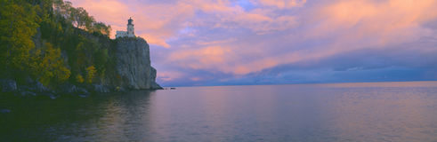 Lighthouse from 1905 at Split Rock Royalty Free Stock Photos