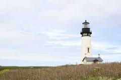 Lighthouse. Yaquina Head lighthouse along the Oregon coast Royalty Free Stock Photo
