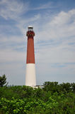 Lighthouse. In New Jersey at Barnegat Royalty Free Stock Photo