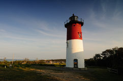 Lighthouse. Shot of a lighthouse in Cape Cod, Massachusetts Royalty Free Stock Image