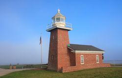 Lighthouse. Old lighthouse in Santa Cruz, California Stock Photography