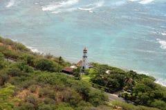 Lighthouse. A Lighthouse in Oahu, Hawaii Stock Photos