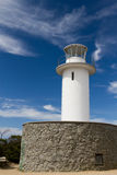 Lighthouse. At Cape Tourville, Tasmania stock photography