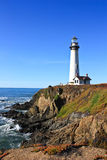 Lighthouse. On the california coast taken on a clear day Stock Photo
