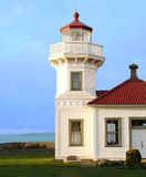 Lighthouse. A lighthouse in Washington state Royalty Free Stock Photography