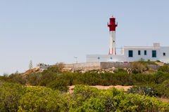 Lighthouse  in Mahdia Royalty Free Stock Images