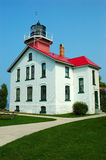 Lighthouse. Grand Traverse Lighthouse in Michigan, USA stock photography