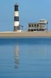 Lighthouse. At Walvisbaai, Namibia Royalty Free Stock Photography