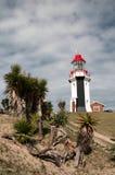 Lighthouse. On the blue sky background Stock Photo