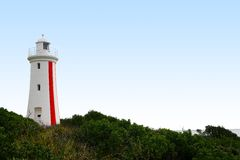 Lighthouse. Mersey Bluff Lighthouse in Devonport on the north coast of Tasmania, Australia Royalty Free Stock Photos