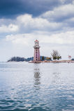 Lighthouse. View of a lighthouse at Teluk Burau, Langkawi Island Stock Photography