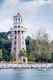 Lighthouse. View of a lighthouse at Teluk Burau, Langkawi Island Stock Photo