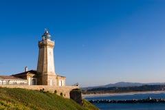 Lighthouse. Of Aviles, Asturias, Spain Royalty Free Stock Image