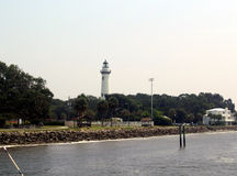 Lighthouse. St. simons island lighthouse stock images