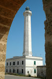 Lighthouse. Of Leuca, Puglia, Italy royalty free stock images