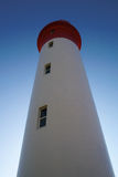 Lighthouse. Umhlanga rock's lighthouse facing sun stock image