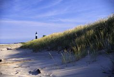 Lighthouse. Big Sable Point Lighthouse on Lake Michigan in  Michigan Royalty Free Stock Photo