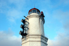 Lighthouse. And sky Stock Photography
