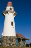 Lighthouse. A lighthouse on a hill Royalty Free Stock Photography