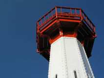 Lighthouse. Steel lighthouse stock photos