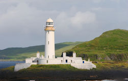 Lighthouse. Near Oban in Scotland royalty free stock image