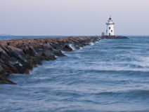 Lighthouse. This is a picture of a Lighthouse in Connecticut stock image