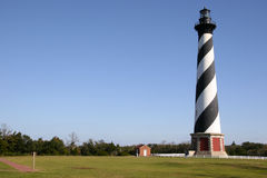 Lighthouse. Cape Hatteras Lighthouse Stock Photo