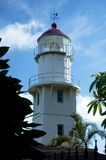 Lighthouse. In Oahu, Hawaii Royalty Free Stock Photo