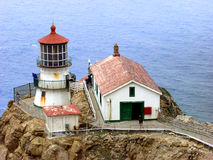 Lighthouse. Pt. Reyes Ca. Lighthouse Stock Photos