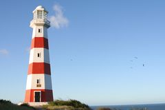 Lighthouse. In Margarita Island, Venezuela Stock Photos