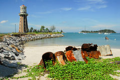 Lighthouse. A lighthouse in Langkawi, Malaysia Stock Photo