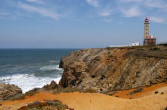 Lighthouse. In San Pedro De Mue - Portugal stock photos