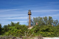 Lighthouse. Sanibel Island Lighthouse Stock Photography