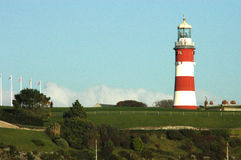 Lighthouse. In Plymouth royalty free stock image