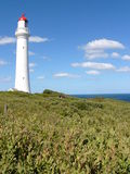 Lighthouse. Beautiful lighthouse on the Great ocean road of Australia Stock Images