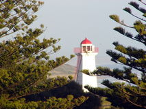 Lighthouse. Beautiful lighthouse on the Great ocean road of Australia Royalty Free Stock Photography