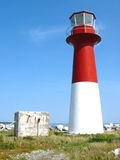 Lighthouse. In nova scotia Royalty Free Stock Images