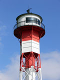 Lighthouse. Top of the lighthouse Wittenberge near Hamburg at the river Elbe royalty free stock image