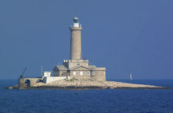 Lighthouse. At day royalty free stock photography