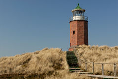 Lighthouse. From the island sylt, germany Royalty Free Stock Image