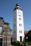 Lighthouse. In the outskirts of Harlingen(Holland Royalty Free Stock Image