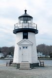 Lighthouse. In Connecticut Royalty Free Stock Photo