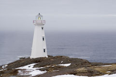 Lighthouse. The lighthouse at Cape Spear, North America's most easterly point Royalty Free Stock Photo